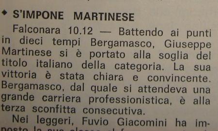 GIUSEPPE MARTINESE