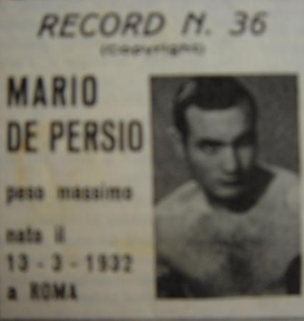MARIO DE PERSIO