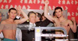 Parisi e Chavez alle operazioni di peso
