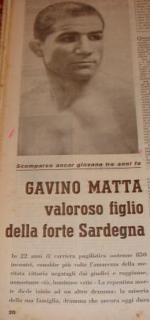 GAVINO MATTA