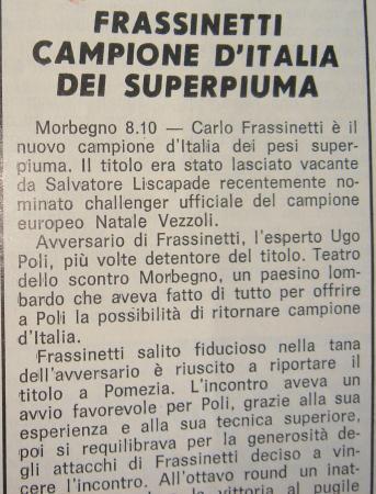 CARLO FRASSINETTI
