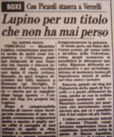 MAURIZIO LUPINO
