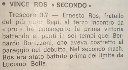 ERNESTO ROS