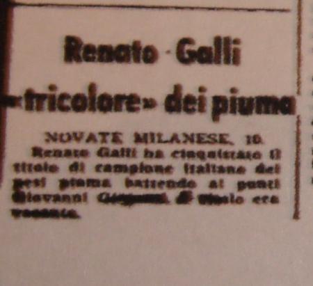 RENATO GALLI